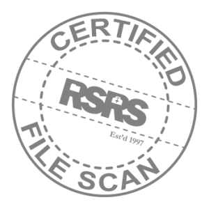 Certified Original Scan Stamp remade80