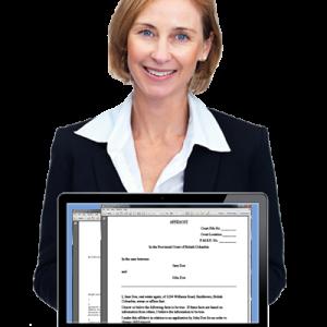 mature-female-lawyer-explaining-case-14974720wAffidavit