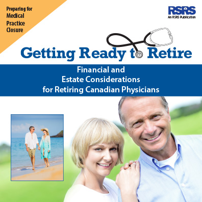 Cover image of Estate Planning and Retirement Guide for Physicians booklet