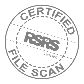 Certified Original Scan Stamp