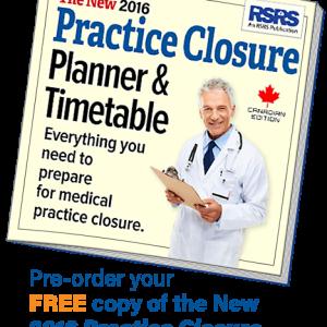Photo of free practice closure booklet.